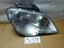 07 08 Chrysler Pacifica PASSENGER Side Headlight Used Front Lamp #539