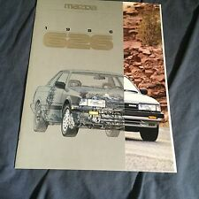 1988 Mazda 626 USA Market Original Color Brochure Catalog Prospekt