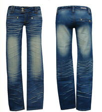 ° BLUE QUEEN JEANS ° w28-gr. 36 ° BLUE QUEEN jeas ° nr 8 Denim