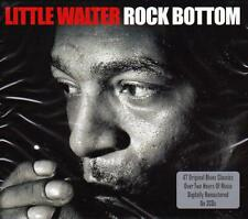 LITTLE WALTER - ROCK BOTTOM - 47 ORIGINALS (NEW SEALED 2CD)