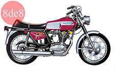 Ducati Scrambler-Mark3-Desmo 250-350-450 (1970) - Workshop Manual on CD