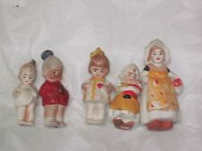 Antique Miniature German All Bisque Penny Dolls 5