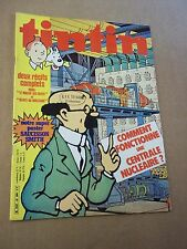 "MAGAZINE ""TINTIN, no 299"" (1981) POSTER ""SAUCISSON SMITH"""