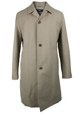 BOSS SELECTION cotton coat LEGATOW in uk size 40/M beige with wool lining