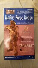 """BBI 1:6 scale Elite Force US Marine Corps Recon SNIPER 12"""" Tall Action Figure  A"""