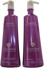 ColorProof SuperRich Moisture Shampoo and Conditioner 25oz Duo