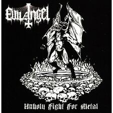 EVIL ANGEL Unholy Fight CD Sarcofago Holocausto Chakal Mutilator Sepultura MX