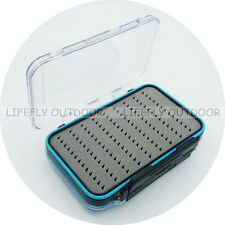 FREESHIP / HB18B Plastic Waterproof Fly Box, Double Sided & Slot Foams, Fishing