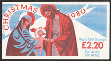 GB Folded Booklet FX3 1980 Chirstmas booklet Complete - Excellent condition