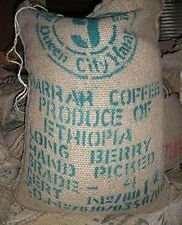5 lbs Ethiopian Queen City Harrar Grade 4 Fresh Unroasted Coffee Beans