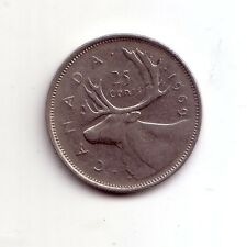 Canada   25 cents  1969      BB    (m466)