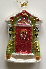 Our First 1st Christmas in New Home Ornament Themed Wreath Door Holiday New