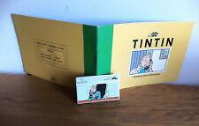 carte téléphonique tintin 4000 ex troisième de la série Hergé