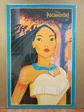 vintage Walt Disney original Pocahontas movie poster  10825