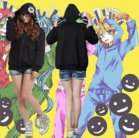 Black Vocaloid Matryoshka miku Len Rin Gumi Hoodie Coat Jacket Cosplay