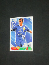 Trading cards carte panini FOOT 2012-2013 ADRENALYN XL  HAREK  SC BASTIA