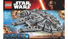 LEGO Star Wars Millennium Falcon minifigures 75105 milennium model space set kit