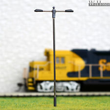 10 pcs HO/OO Scale Lamp LEDs made Model Lamppost height adjustable Light #SD100D