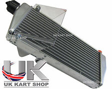 Rotax Max Genuine 2016 Silver Radiator with Cap UK KART STORE
