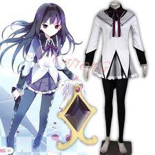 Cafiona Puella Magi Madoka Magica Akemi Homura Cosplay Costume Outfit Any Size