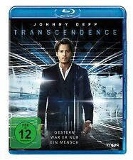 REBECCA HALL,PAUL BETTANY,JOHNNY DEPP - TRANSCENDENCE  BLU-RAY NEU