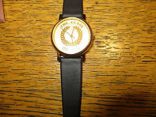 Lot of 10 New Old Stock LeJour Unisex Class 2000 Quartz Watch Leather Band Coin