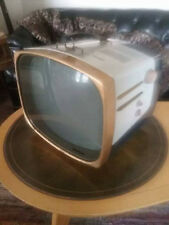 VINTAGE 1950's ATOMIC ERA RCA VICTOR DELUXE PORTABLE TELEVISION~UNRESTORED