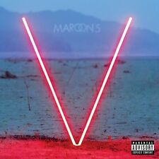 V - Maroon 5 (2015, CD NIEUW) Explicit Version
