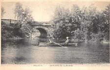 INLET SILVER LAKE NEW YORK BOATING BRIDGE SABINSVILLE PA DOANE POSTCARD 1907