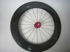 88mm tubular carbon front track bike wheel,700C 20 spoke with novatec hub