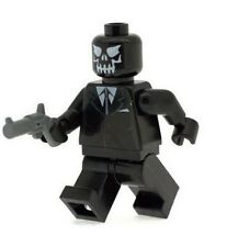 Custom Minifigure Black Mask Superhero Batman Joker Printed on LEGO Parts