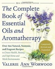 Complete Book Essential Oil Aromatherapy Fragrant Recipe Health Beauty Paperback