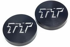 Audi TT Mk1 Suspension Strut Cap Covers Anodised in Black