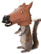 Archie McPhee Horse Head Squirrel Animal Wildlife Novelty Seed Nut Feeder