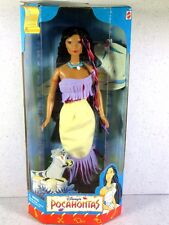 NIB BARBIE DOLL SIZE 1999 DISNEY'S POCAHONTAS MY FAVORITE FAIRYTALE COLLECTION