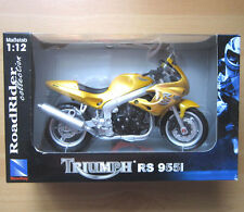 Motorrad Modell TRIUMPH RS 955i New Ray M 1:12 Road Rider Collection Bike in OVP
