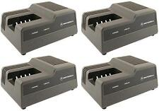 MOTOROLA HT600E HT800 P210 P200 NTN5414 NTN5521 NTN5447 RAPID CHARGER: SET OF 4