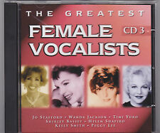 The Greatest Female Vocalists Vol 3. (CD) A Great Christmas Gift Idea