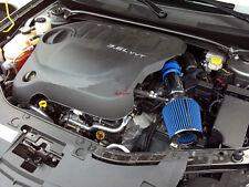 BCP BLUE 11-14 Dodge Avenger/Chrysler 200 3.6L V6 Short Ram Air Intake + Filter