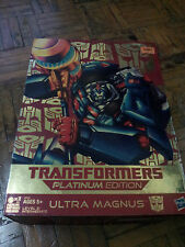Transformers Platinum Edition 30th Anniversary Ultra Magnus MSIB
