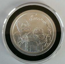 "Consumerism ""santa slave"" 1 oz .999 Silver EARLY STRIKES  Christmas zombie rare"