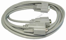 VGA Splitter Lead Wire Monitor Duplicator 1.8m 6ft Cable 2 screens from 1 output