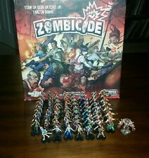 Zombicide - Fully Pro Painted Core base Game - Season 1 - CMON - SEE PHOTOS!!!