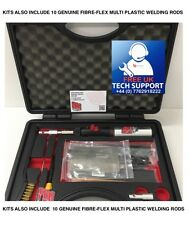 Bumper Repair Kit - Plastic Welder - Plastic Welding Kit  - Inc FIBERFLEX RODS