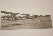 AFRIQUE PHOTO AVIONS TERRAIN D'AVIATION 1930  (MD203)