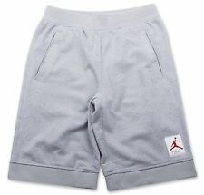 Size Medium Men's Nike Air Jordan Sweat Short (GREY/BLACK) 748385 012  Cement