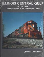 ILLINOIS CENTRAL GULF, 1972-1988, Train Operations in the MIDWESTERN STATES, NEW