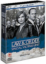 Law And Order - Special Victims Unit Series 6 Complete DVD 5-Disc Box Set