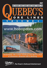 * Pentrex DVD: EASTERN QUEBEC'S ORE LINES - Vol 1 - New!