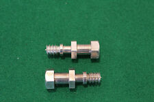 TWO YAMAHA TZ250 & TZ350 EXHAUST SPRING BOLTS 90109-08305 (322-14684-00)